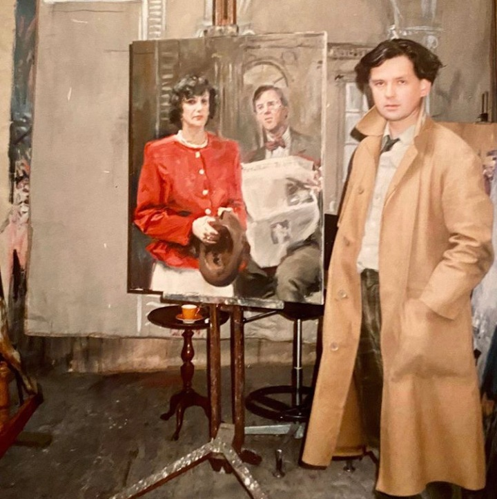 'The most daring of modern portrait painters.'  My obituary of Howard Morgan in The Telegraph