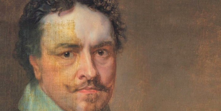 The mystery of Van Dyck's masterpiece; did Charles I hide his friend's portrait  to savehimself?